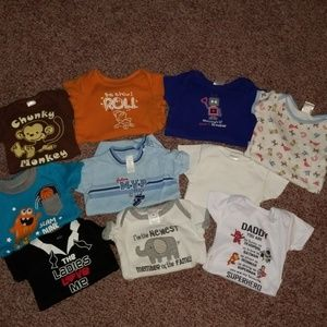 0-3 month onsie lot